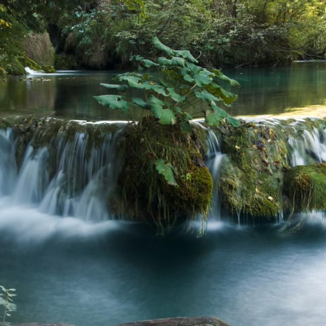 """Waterfall Park Plitvice Croatia"" stock image"
