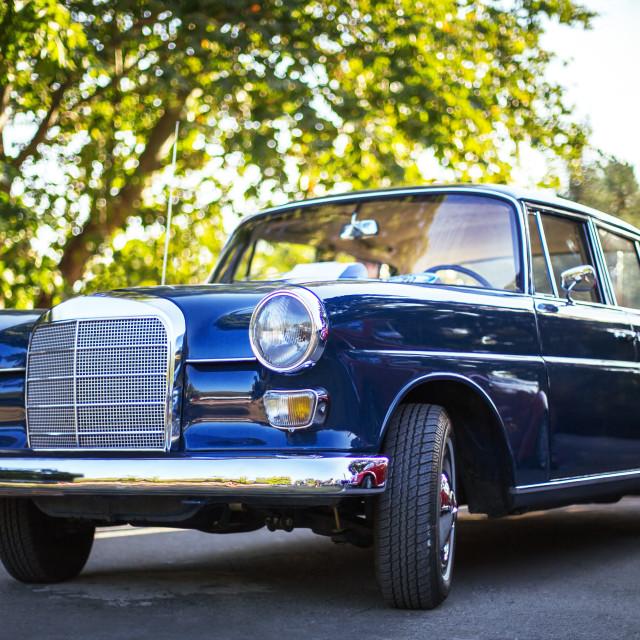 """Retro car"" stock image"