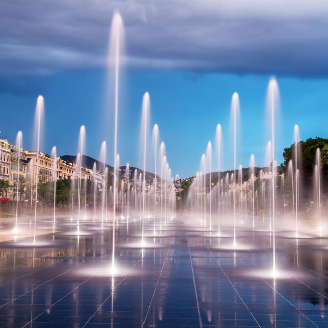 """City fountain"" stock image"