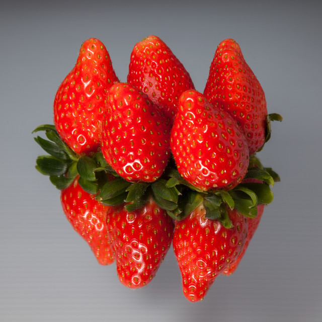 """Fruits - Strawberry"" stock image"
