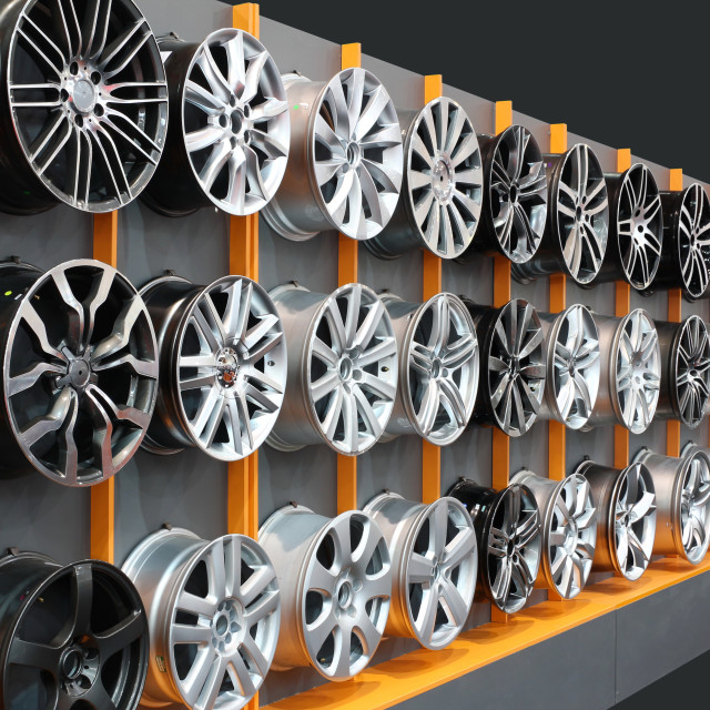 """car aluminum wheels"" stock image"