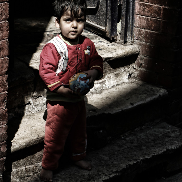 """Poverty in Istanbul"" stock image"