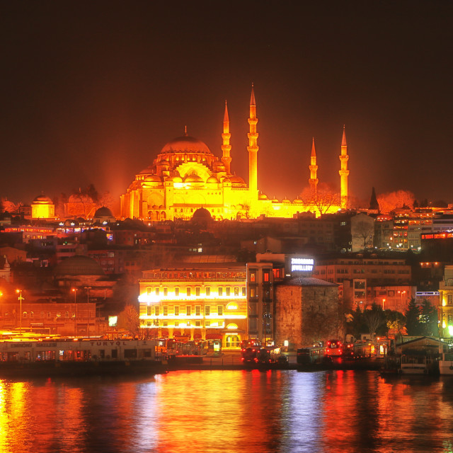 """The blue Mosque in Istanbul"" stock image"