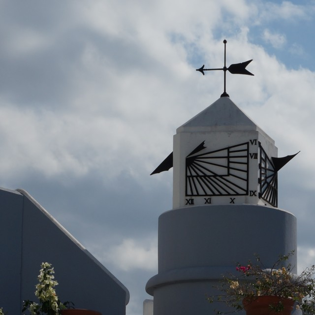 """Weather vane"" stock image"