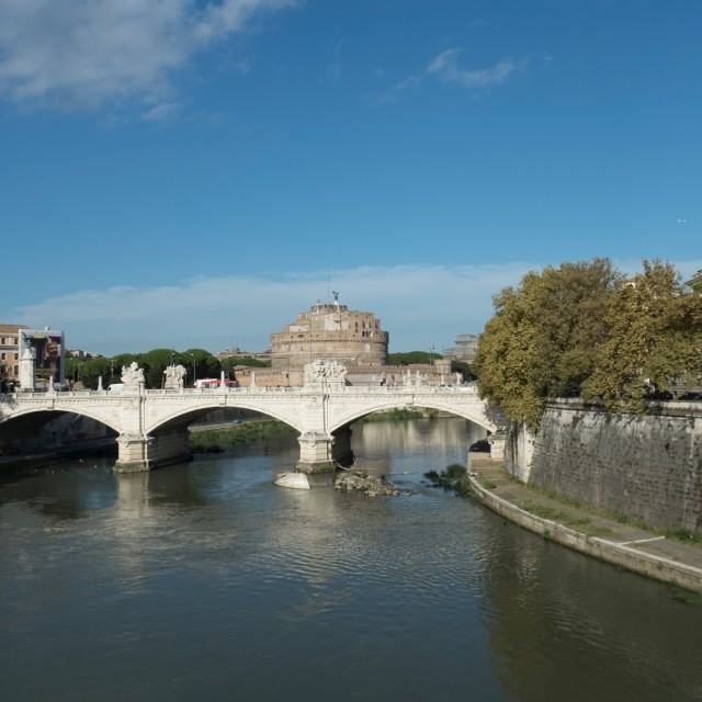 """Castel Sant'Angelo - Roma"" stock image"