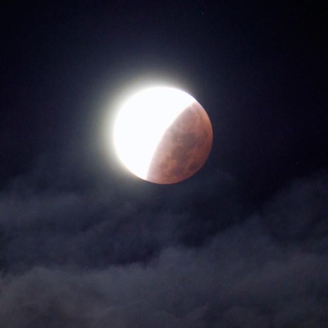 """Eclissi di Luna"" stock image"