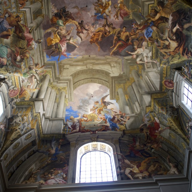 """""""Chiesa di Sant'Ignazio"""" stock image"""