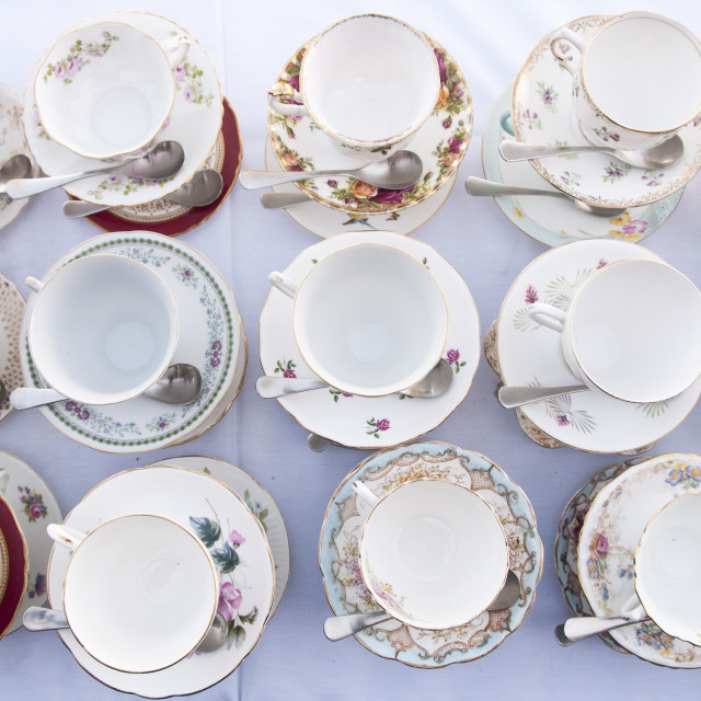 """Antique China"" stock image"