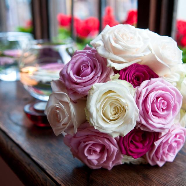 """Wedding Bouquet"" stock image"