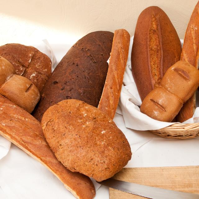 """Artisan Breads"" stock image"