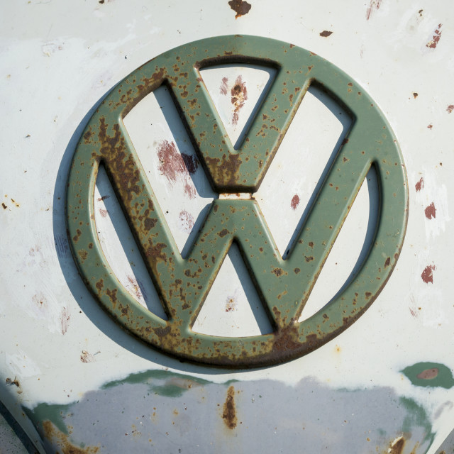 """Volkswagen VW Badge"" stock image"