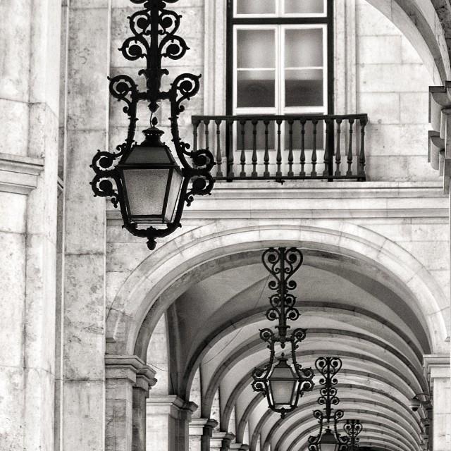 """""""Lisbon Beauty"""" stock image"""