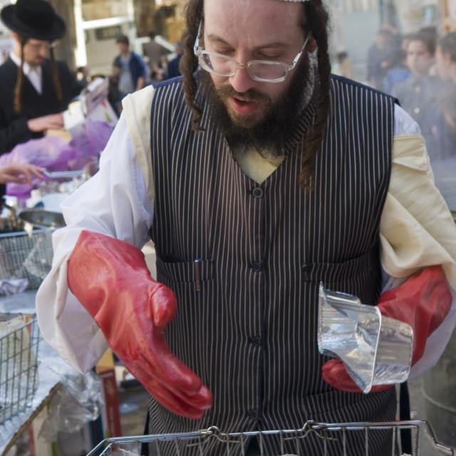 """Passover preparation"" stock image"