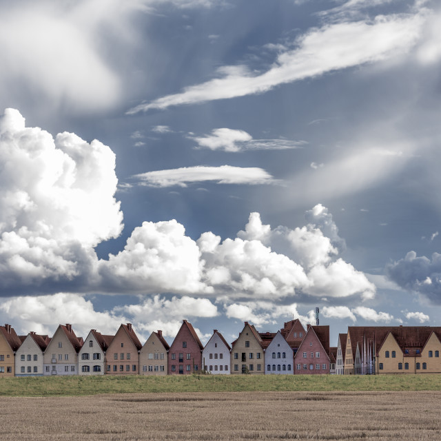 """""""Jakriborg in South of Sweden"""" stock image"""