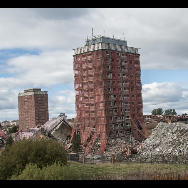 """Demolition time"" stock image"
