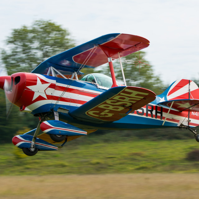 """Pitts S-1S Special"" stock image"