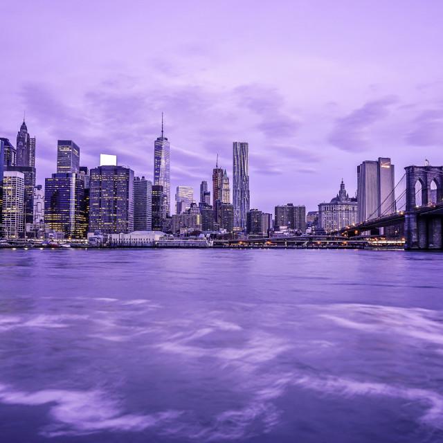 """Manhattan Skyline New York City"" stock image"