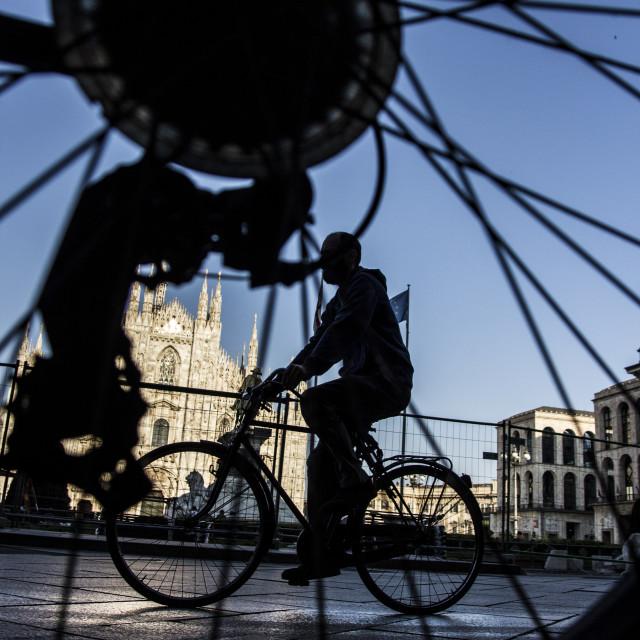 """""""Bike in a bike"""" stock image"""