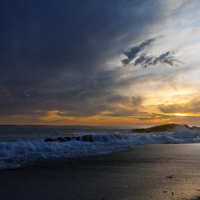 """""""A Beautiful Cape Sunset"""" stock image"""