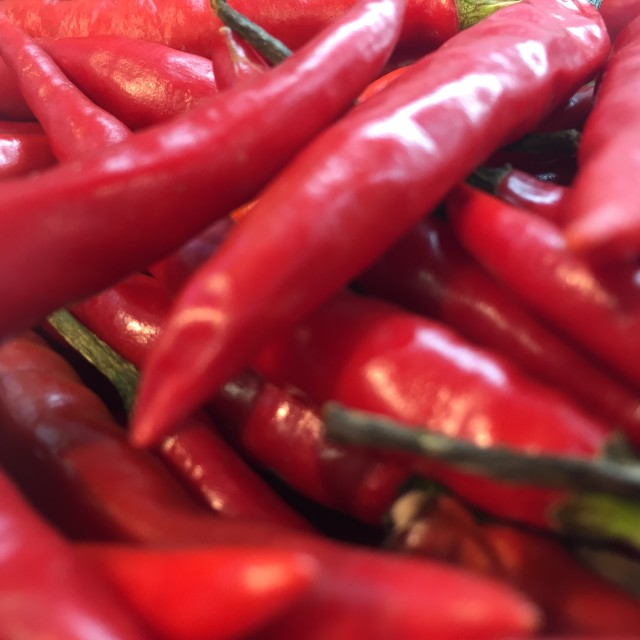 """""""Hot Chillies"""" stock image"""