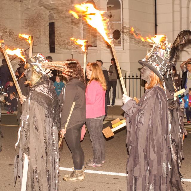 """Eastbourne Bonfire Society"" stock image"