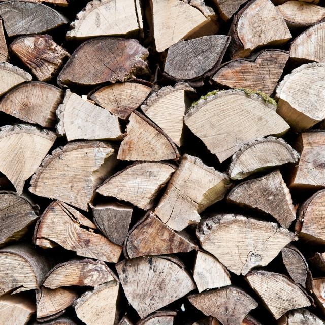 """Logs"" stock image"