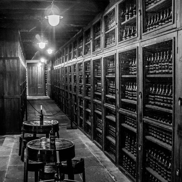 """Blandy's Wine Lodge"" stock image"