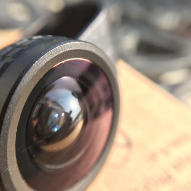 """iPhone lens kit"" stock image"