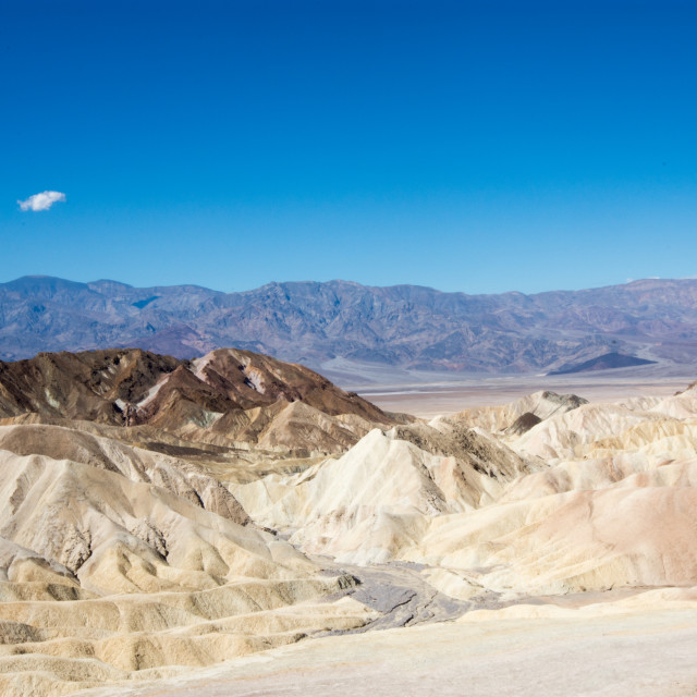 """Death Valley colors"" stock image"