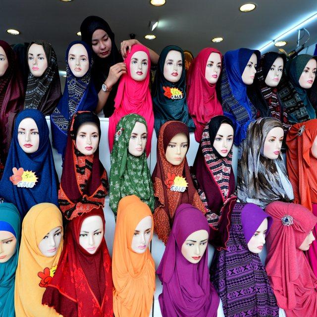"""Hijab"" stock image"