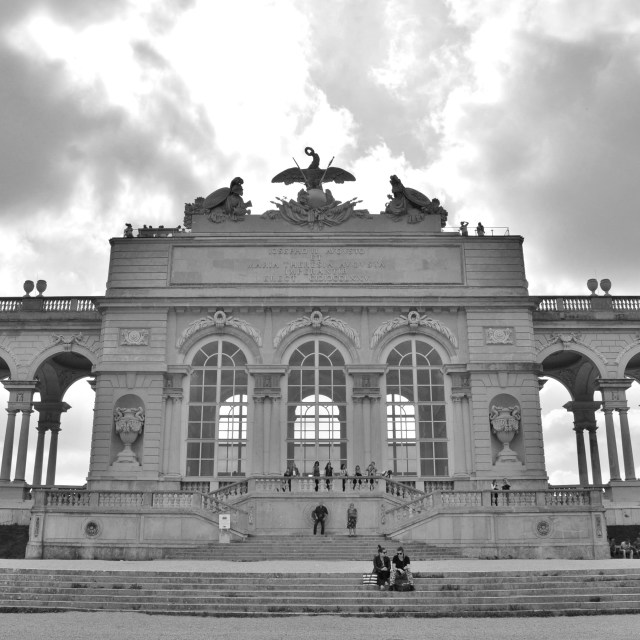 """Gloriette"" stock image"