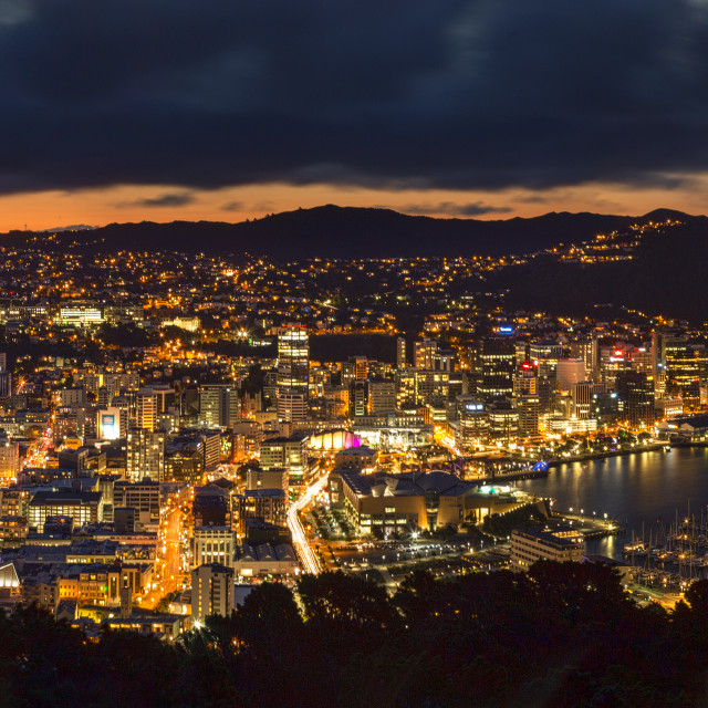 """The Capital City NZ"" stock image"
