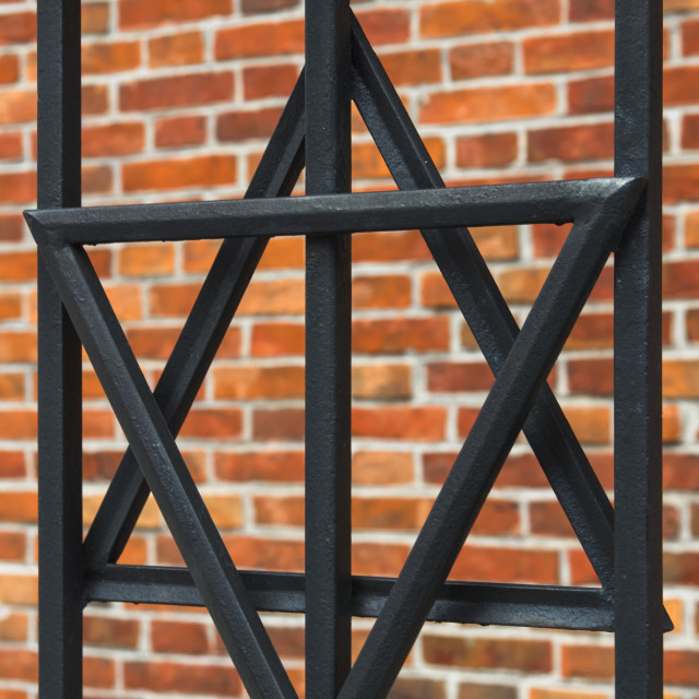 """Star of David"" stock image"