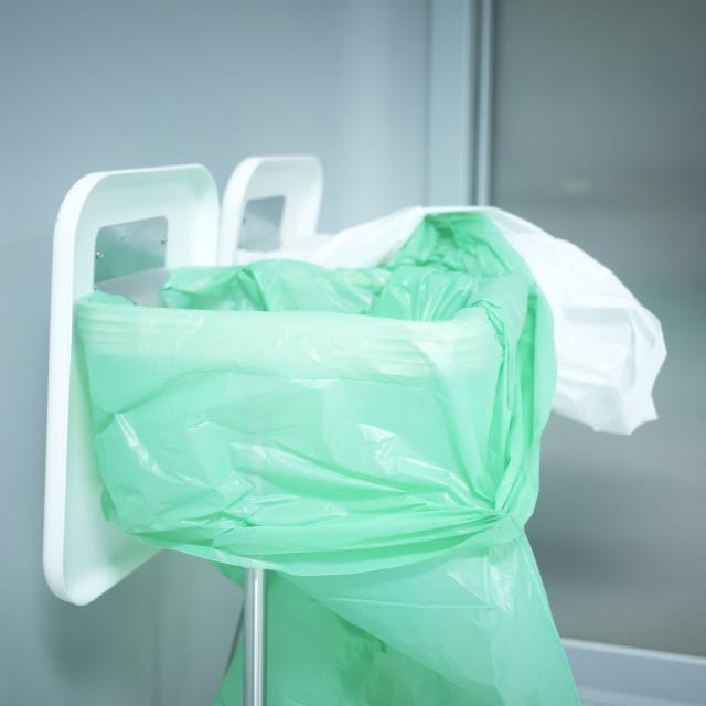 """""""Traumatology orthopedic surgery hospital trash rubbish"""" stock image"""