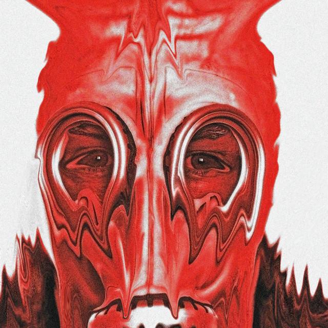 """The devil inside"" stock image"