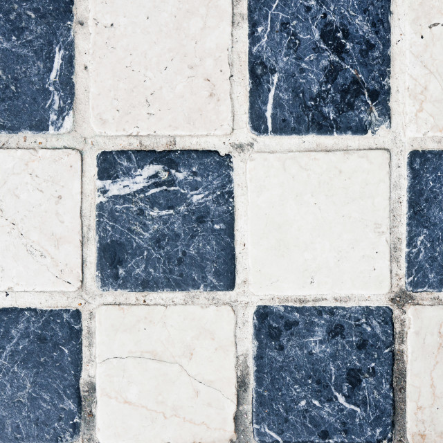 """""""Chequered tiles"""" stock image"""
