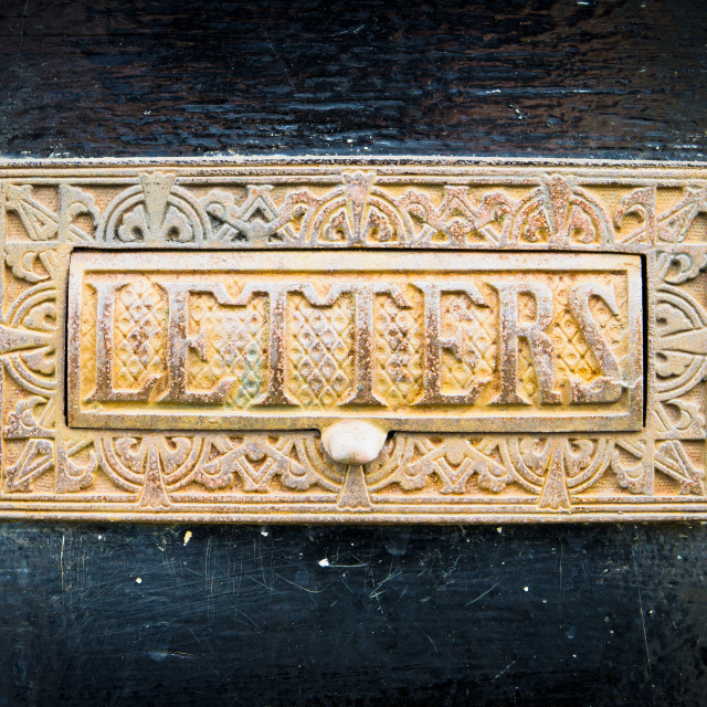 """""""Letterbox"""" stock image"""