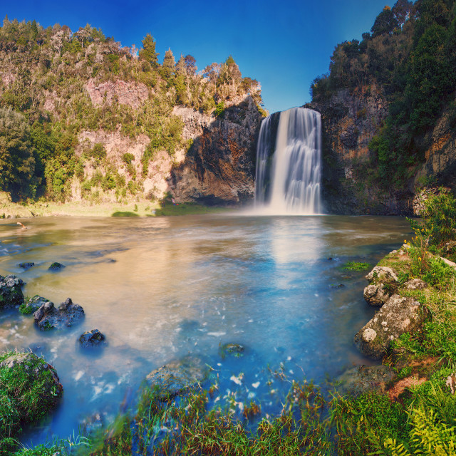 """Around Hunua Falls ..."" stock image"