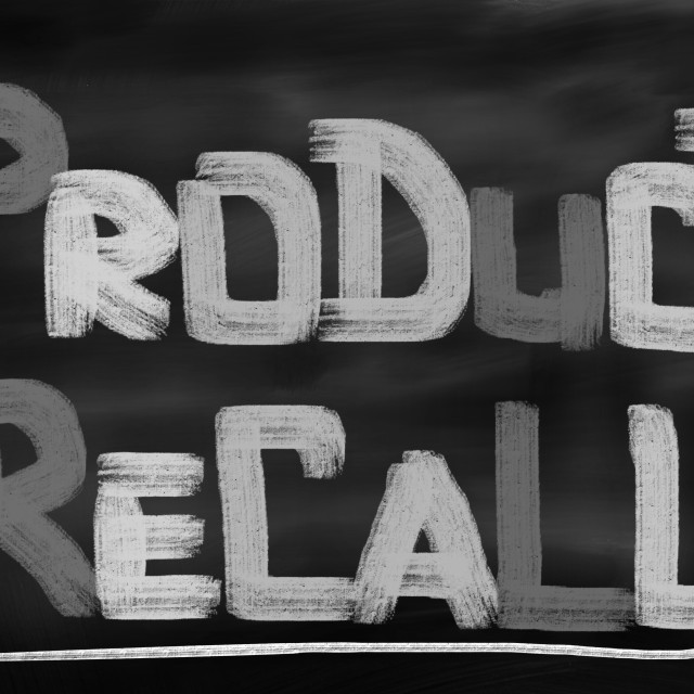 """""""Product Recall Concept"""" stock image"""