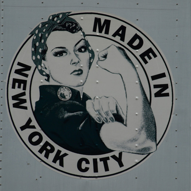 """Made in New York"" stock image"