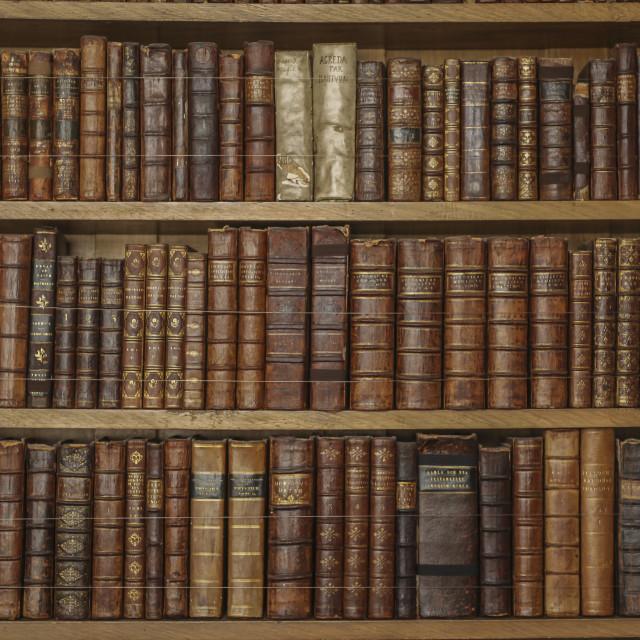 """Vintage books"" stock image"