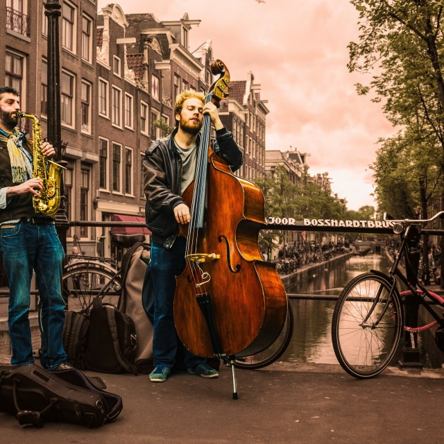 """Jazz in Amsterdam"" stock image"