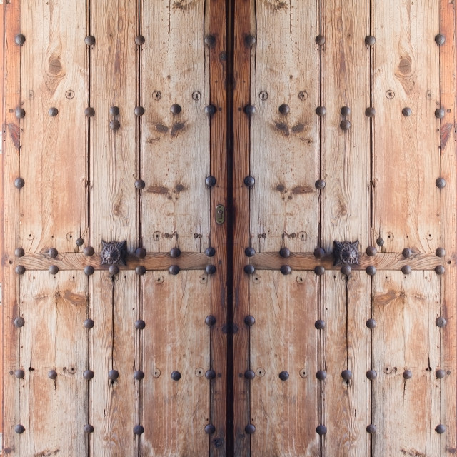"""Double doors"" stock image"