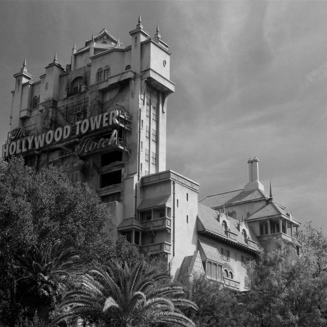 """""""Hollywood Tower"""" stock image"""