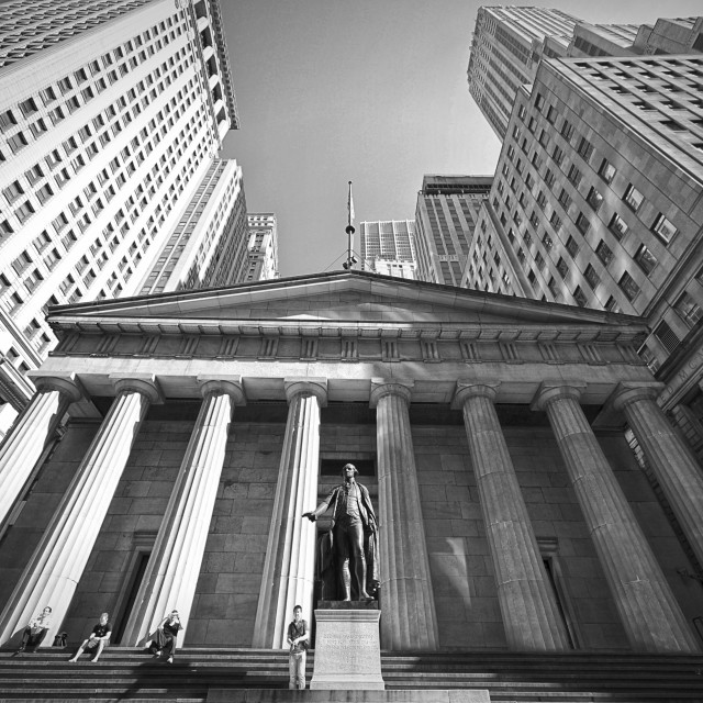 """Wall Street, NYC"" stock image"