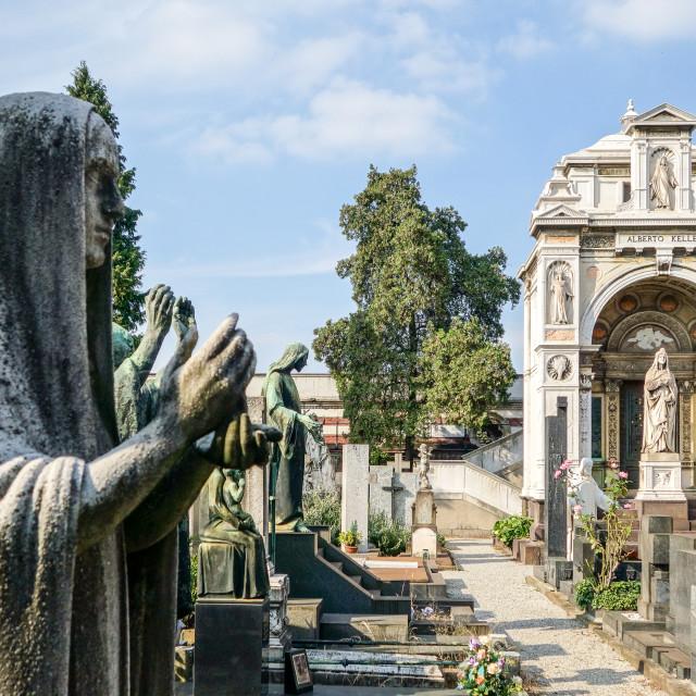 """cimitero monumentale"" stock image"