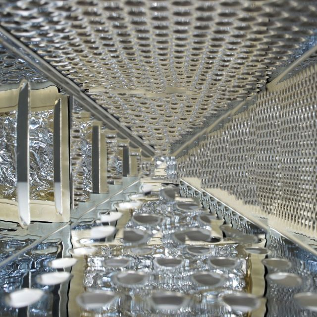 """Inside of a cheese grater"" stock image"