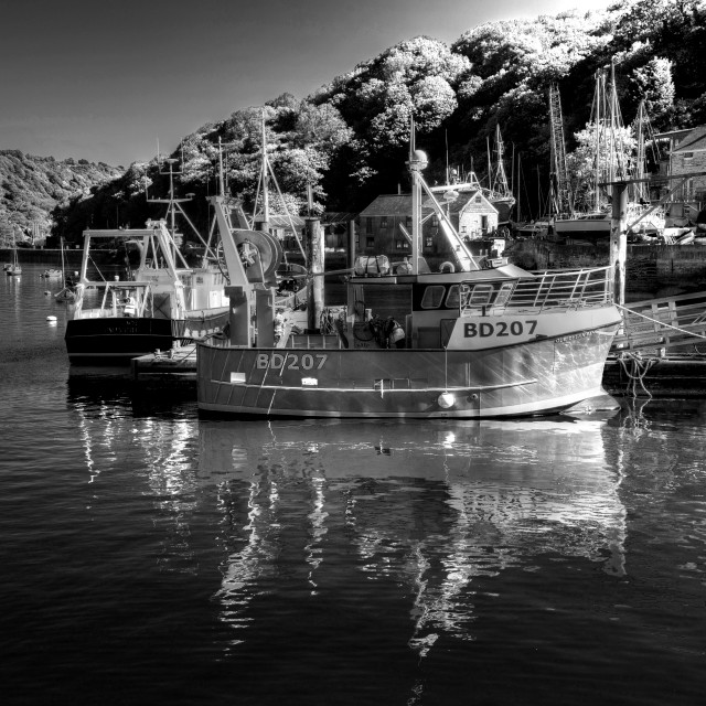"""""""Harbour Boats"""" stock image"""