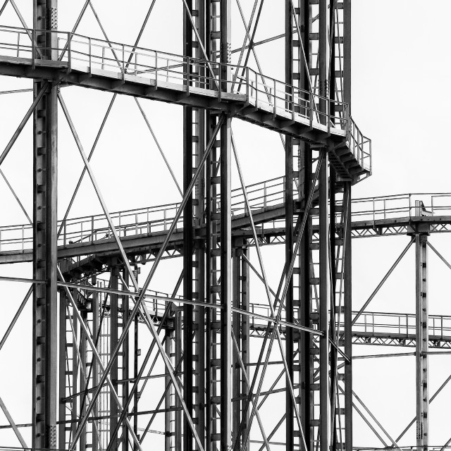 """Industrial Structure"" stock image"