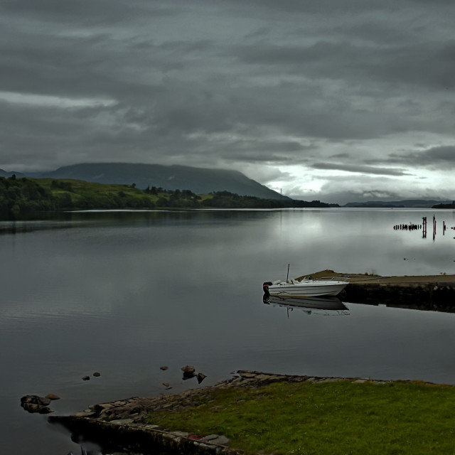 """Loch Awe,Argyll and Bute, Scotland"" stock image"